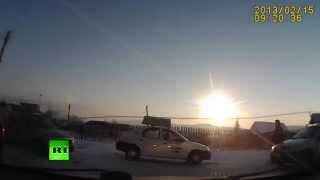 """Russie : la chute de la météorite """"Tcheliabinsk"""" dans une vidéo d'antologie"""