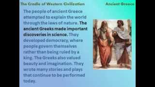 Ancient Greece: The Cradle of Western Civilization - reading lesson for kids