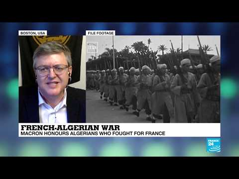 """Macron honours Algerians who fought for France during French-Algerian war: """"It"""