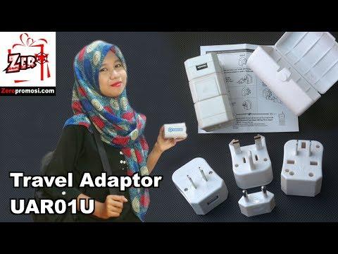 Souvenir Travel Adaptor UAR01U AU/UK/US/EU Review By Zeropromosi.com
