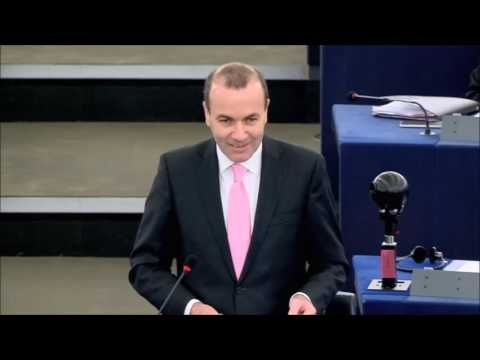 Manfred Weber on CETA and Russia during the plenary debate, 26.10.2016