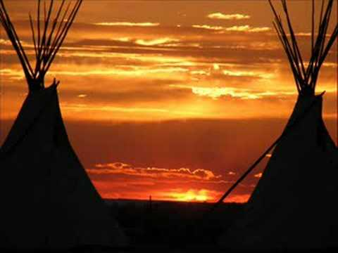 SUNSET ON  THE WINDRIVER INDIAN RESERVATION