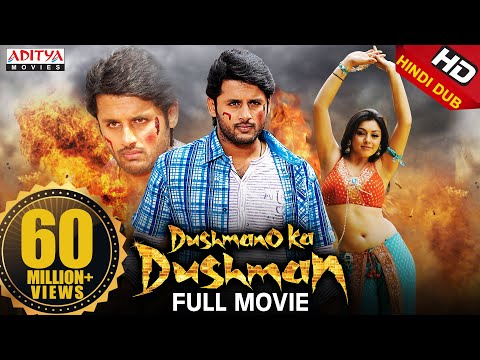 Dushmano Ka Dushman Hindi Dubbed Full HD movie| Starring Nithin, Hansika Motwani | Aditya Movies thumbnail