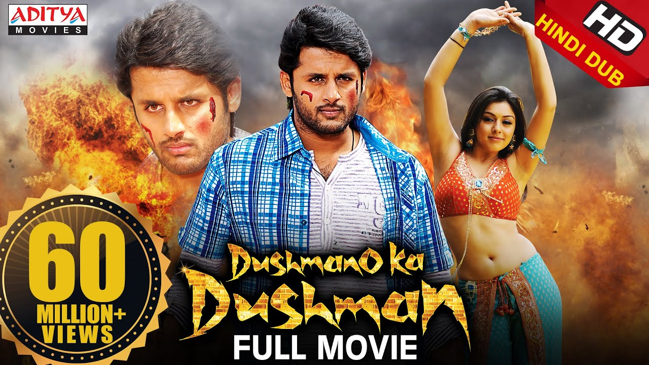 Dushmano Ka Dushman Latest  Hindi Dubbed Full Movie | Nithin, Hansika Motwani | Aditya Movies