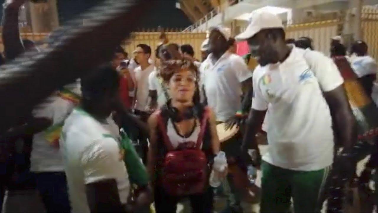 الوطن المصرية:احتفال الجمهور السنغالي بالصعود لنهائي كان 2019