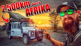 2.500km durch AFRIKA - Land Rover Experience Tour - LET 2019 KAZA | Fritz Meinecke