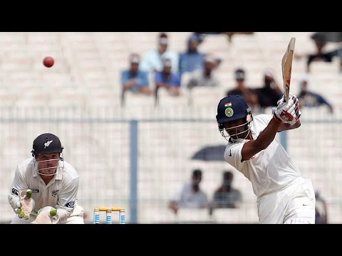 India vs New Zealand | 2nd Test | Day 4 | Wriddhiman Saha's Fifty Takes India's Lead To 375 Runs