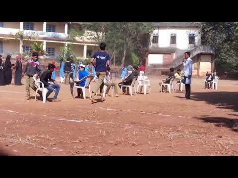 2nd day sports in HDA high school, Kalusta | Music chair ( Senior group ) | 29-12-2017