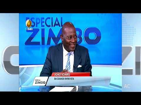 ESPECIAL ZIMBO COM POLÍTICO PORTUGUÊS  JOÃO SOARES