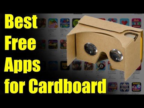 Best Free VR Apps for Cardboard