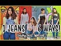 How To Look Stylish In JEANS: 6 Ways | Curvy Girl Outfit Ideas |ThatQuirkyMiss