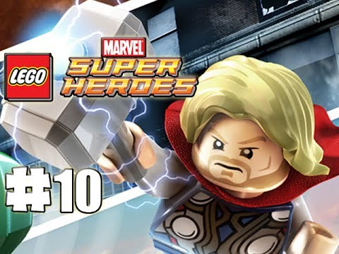 LEGO Marvel Superheroes - 100% Guide - Level 10 - That Sinking Feeling (HD Gameplay Walkthrough)
