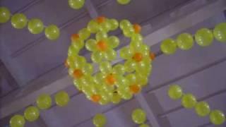 Оформление больших помещений воздушными шарами.(, 2010-04-16T15:47:35.000Z)