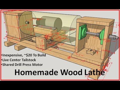 Homemade Wood Lathe