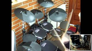 Kiss - Sure Know Something (Drum Cover - Franki Bio)