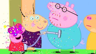 Peppa Pig Official Channel | Use Glitter to Make Masks with Peppa Pig