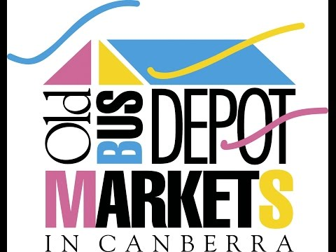Visit to the Old Bus Depot Markets - Canberra , Australia