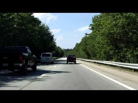 Alan Shepard Highway (Interstate 93 Exits 4 to 6) northbound