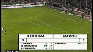 REGGINA-NAPOLI 3-1 (28-04-2001)
