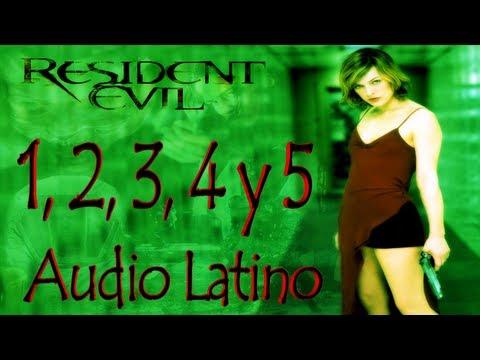 Descargar La Pelicula De Resident Evil 1,2,3,4 y 5 Completas Audio Latino 1 Link.