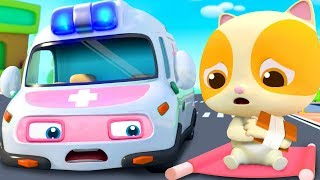 Super Ambulance's Mission | Police Car, Fire Truck | Nursery Rhymes | Kids Songs | BabyBus