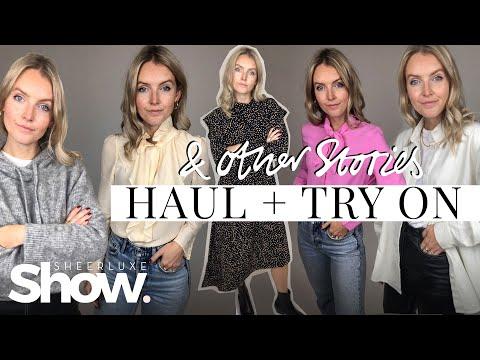 & Other Stories Haul + Try On | Autumn Winter Fashion | SheerLuxe Show