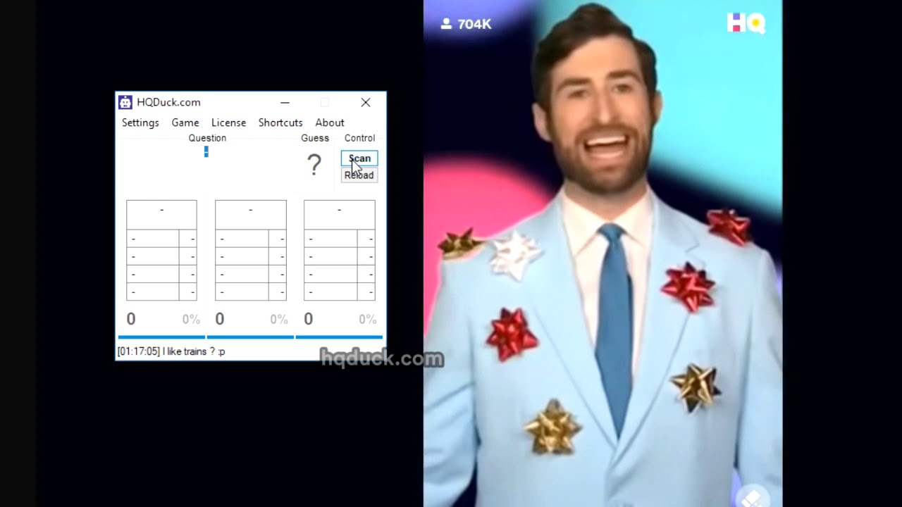 How to use bot on HQ Trivia (hqduck) + Download