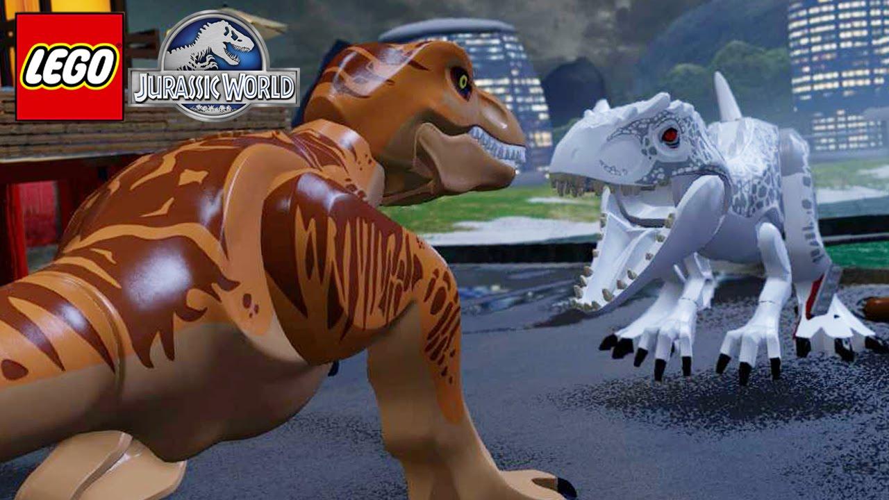 Tyrannosaurus Rex Jurassic World Lego