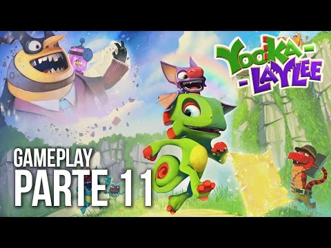 Gameplay Yooka-Laylee #11 - Casino Capital Expandido