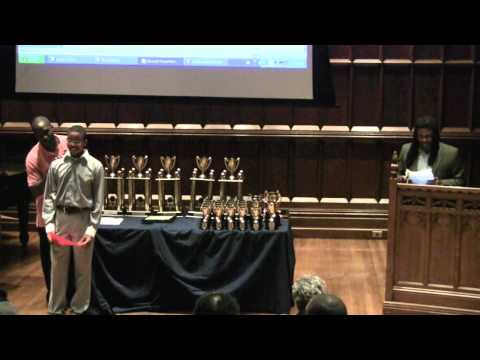 Children's Aid Society - African American Male Initiative (AAMI) Awards Ceremony 2010