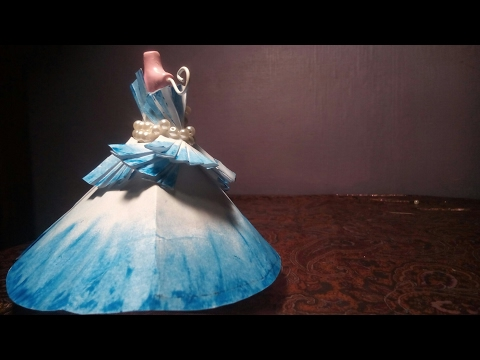 The Blue Paper Gown | Miniature Project