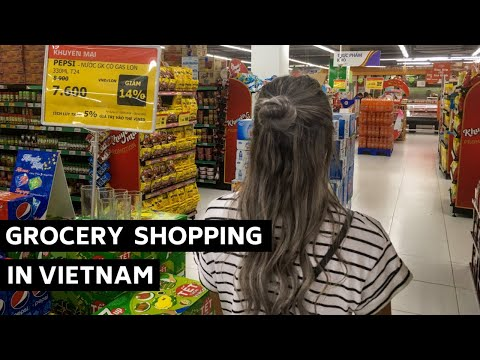 Grocery Shopping In Vietnam
