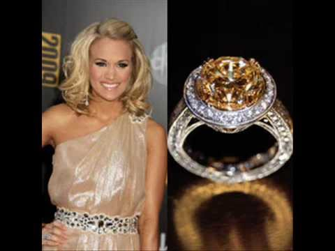 Celebrity carrie underwoods engagement ring youtube celebrity carrie underwoods engagement ring junglespirit Choice Image