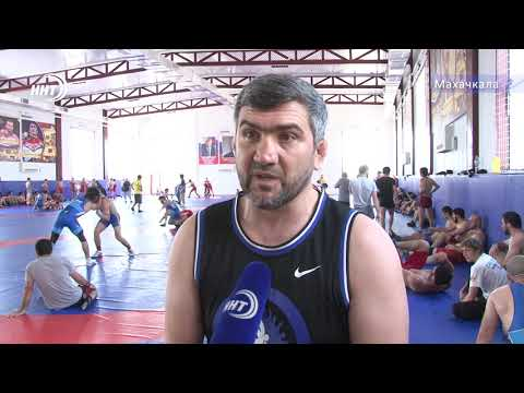 Сборная Дагестана по вольной борьбе готовится к чемпионату России-2019