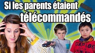 Et si les PARENTS étaient TÉLÉCOMMANDÉS ? - Angie la crazy série
