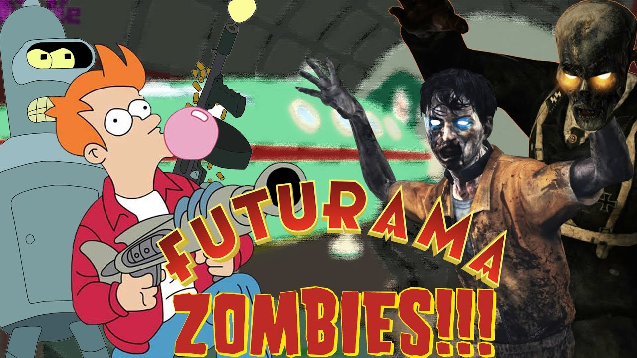 Futurama the mutant uprising custom zombies map call of duty zombies maps mods