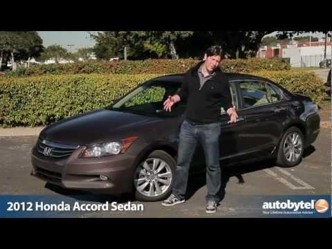 2012 Honda Accord Sedan Test Drive & Car Review