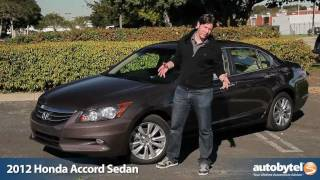 2012 Honda Accord Sedan Test Drive & Car Review