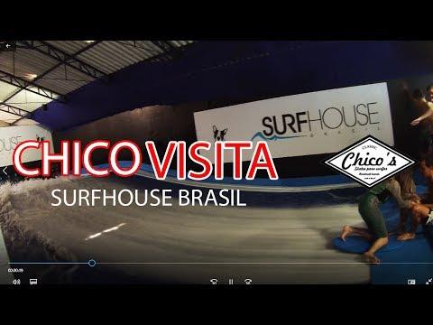 chico visita surf house brasil