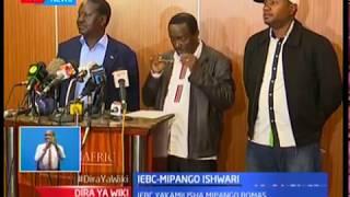 IEBC yakamilisha mipango Bomas huku Raila akidai njama ya kuiba kura