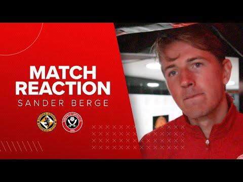 Sander Berge | Sheffield United v Dundee United post match interview