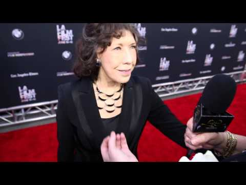 2015 Los Angeles Film Festival - Carpet Chat with Lily Tomlin