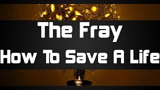 The Fray - How To Save A Life (piano cover)