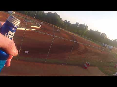 O'Reilly United Sprint Car Series 360 Sprints - Swainsboro Raceway - Hot Laps - 2018