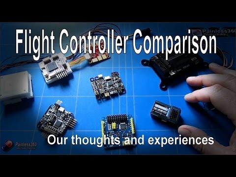 RC Basics - Flight Controller Comparison