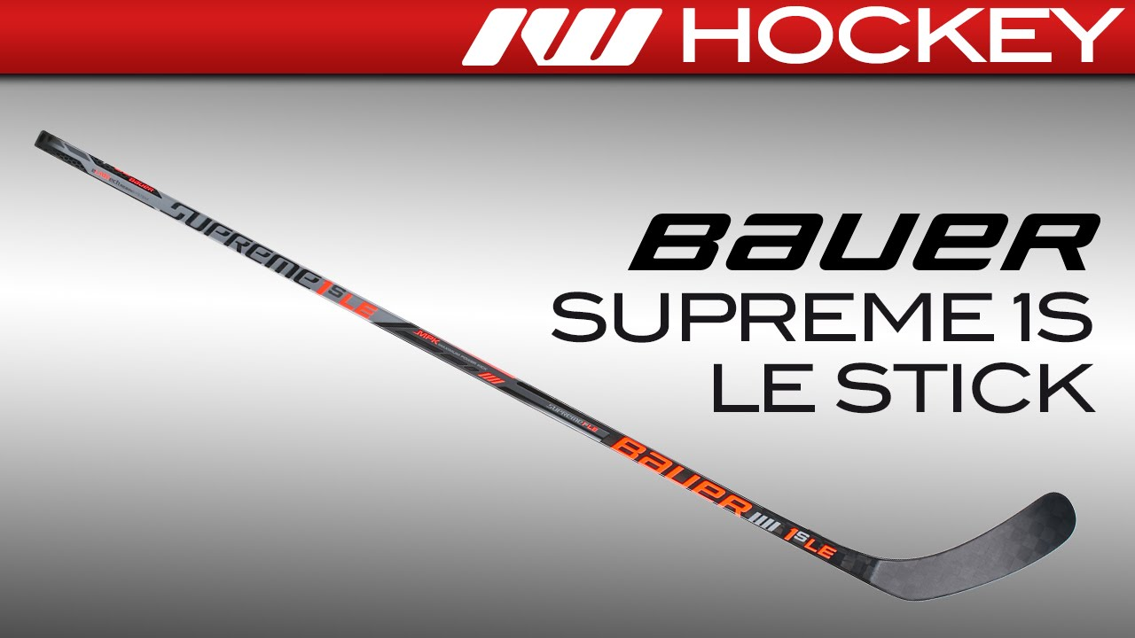 Limited Edition Bauer Supreme 1S Stick Review - YouTube