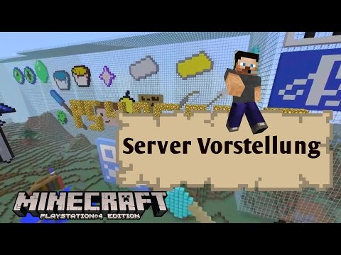 how to make a ps4 minecraft server