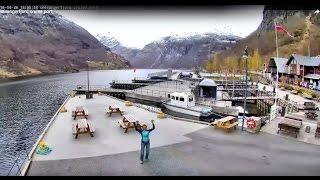 Neue Live Webcam - Geirangerfjord cruise port - en243