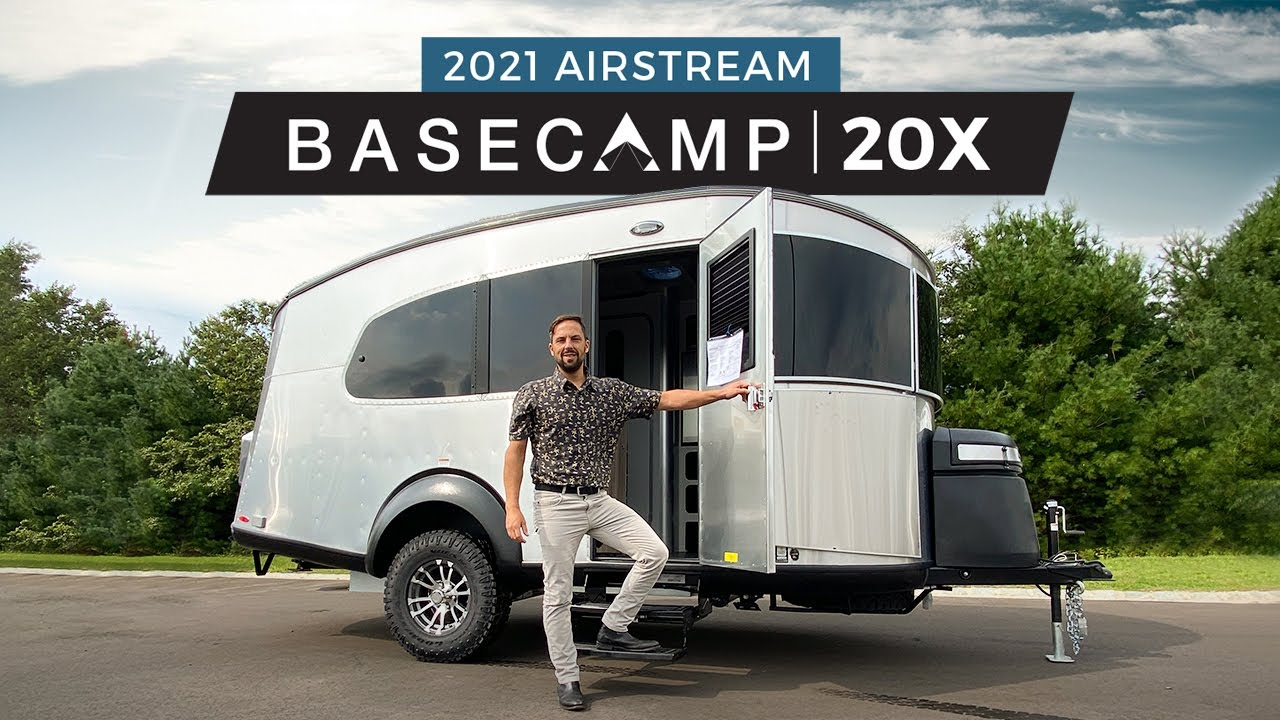 Download 2021 Airstream Basecamp 20X | Complete Walk Through Tour