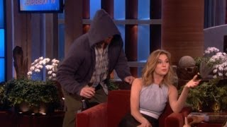 Emily VanCamp Gets Scared!